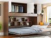 欧加西定制侧翻隐形床1.2侧翻书柜床 不含床垫