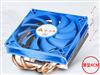 金河田(Golden field)京乐3.8cm薄型四铜管风冷CPU散热器