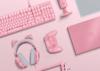 雷蛇(Razer)粉晶套装 机械键盘游戏鼠标 北海巨妖猫耳 锐蝮蛇 猎魂光蛛 重装甲虫 锐蝮蛇鼠标+耳机+猫耳+V3键盘